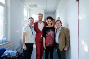 Alexandrina Simeon / Daniel Eberhard Duo - Varna (Bulgarien) Mai 2018 (Foto: Dobromir Dimitrov)