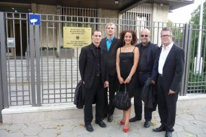 Alexandrina Simeon Quintett, Deutsche Botschaft Sofia - August 2012 (Foto: Privat)