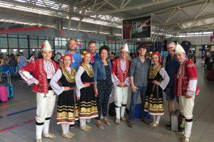 Alexandrina Simeon Quintett, Flughafen Sofia - August 2018 (Foto: Privat)