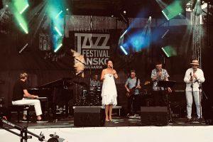 Alexandrina Simeon Quintett mit Benny Brown - Jazzfestival Bansko - 2018 (Foto: Privat)