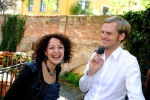Alexandrina Simeon / Daniel Eberhard Duo, 2014 (Foto: Doris Jungwirth)