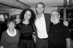 Alexandrina Simeon / Daniel Eberhard Duo - Juli 2014 (Foto: Privat)