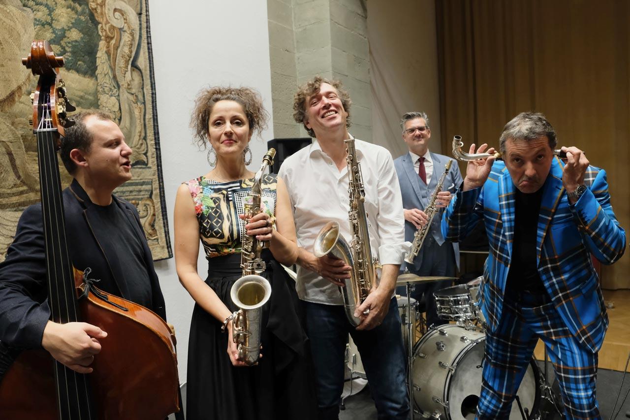 Peter Vogel Quintett (Foto: Corinna Raupach)